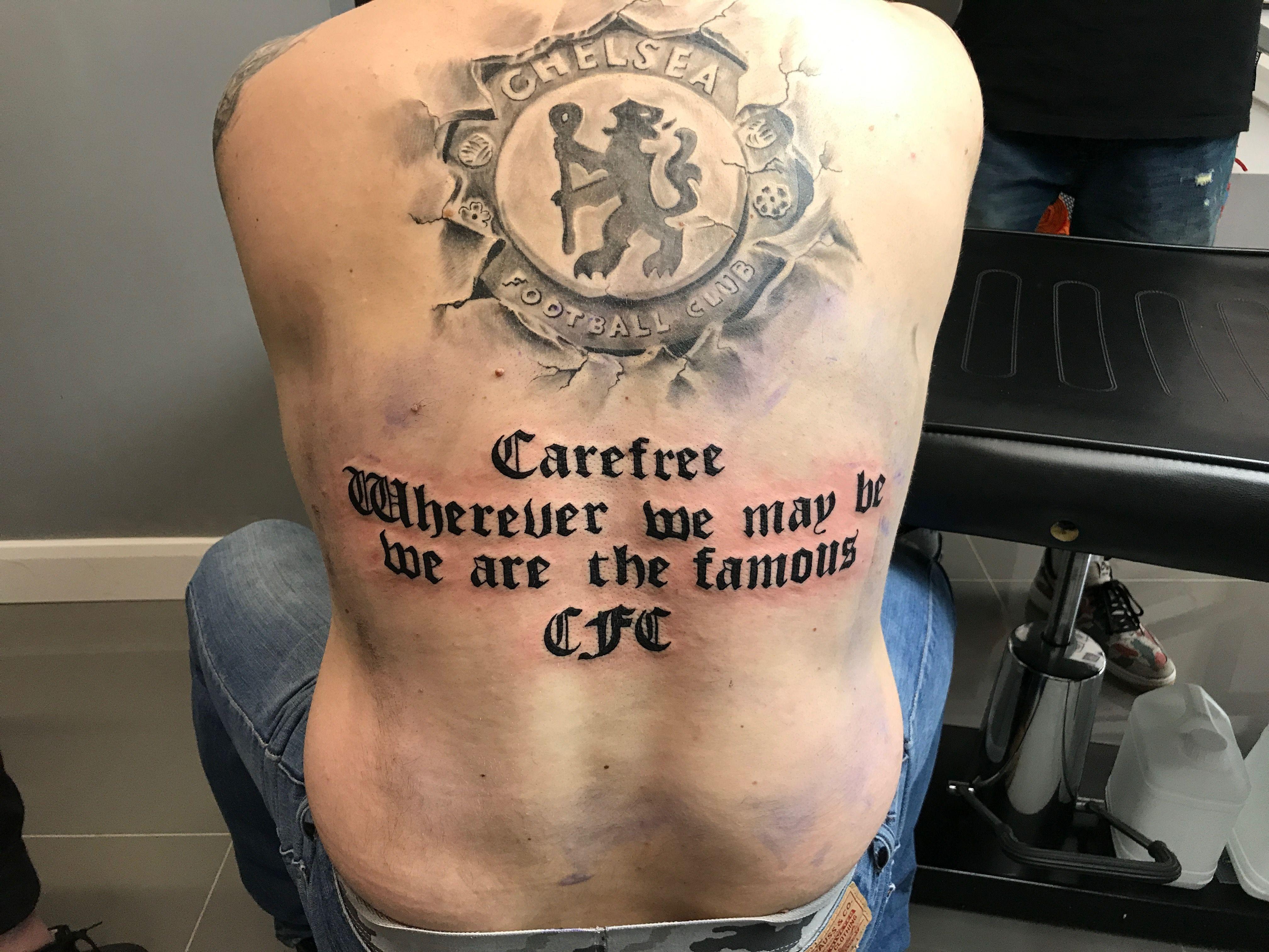 Chelsea FC tattoo quotes
