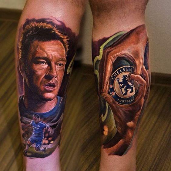 Chelsea tattoo ideas John Terry