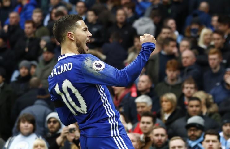 Chelsea FC top scorer this season Eden Hazard