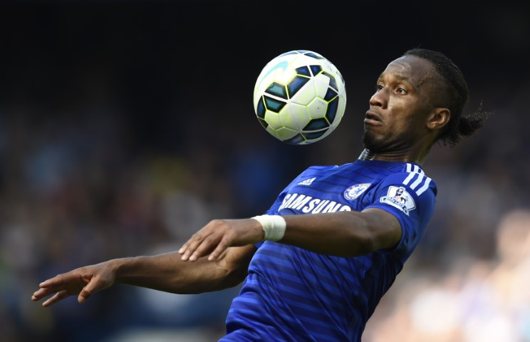 Didier Drogba Chelsea FC all-time top goal scorer in one season