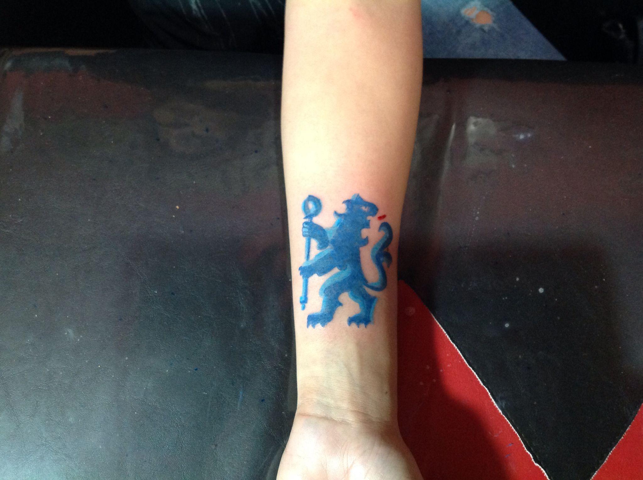 Chelsea football tattoos