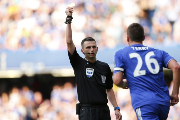 Chelsea player with the most yellow cards in Premier League history John Terry most yellows