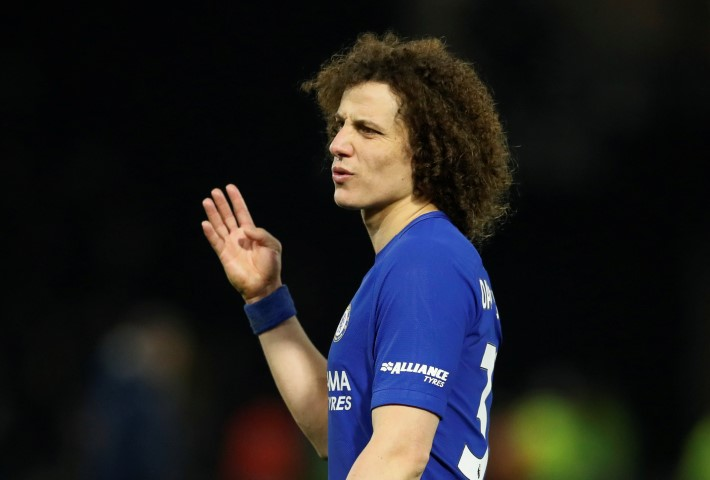 Chelsea players haircuts David Luiz