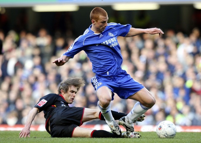 Chelsea players haircuts Steve Sidwell