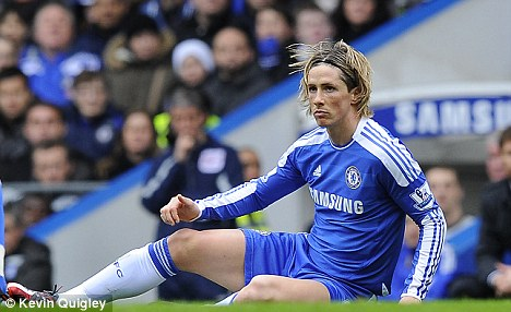 Chelsea players hairstyles (haircuts) - Fernando Torres