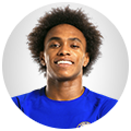 Chelsea players images Willian Borges da Silva