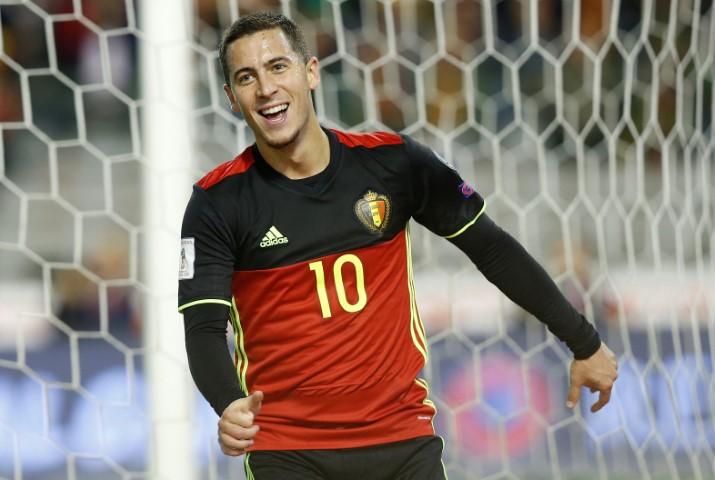 Chelsea players in World Cup 2018 Eden Hazard