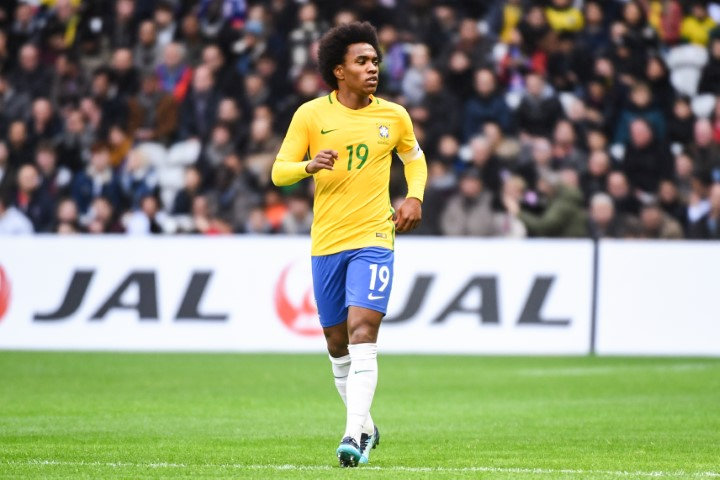 Chelsea players in World Cup 2018 Willian