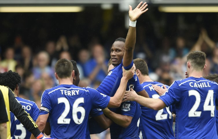 Didier Drogba is one of the most famous Chelsea players ever
