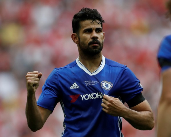 Diego Costa is one of the most hated Chelsea players