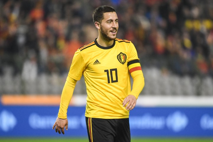 the latest 3b71e a9820 Eden Hazard Chelsea players who will star at World Cup ...