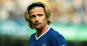Emmanuel Petit Chelsea players that have the World Cup