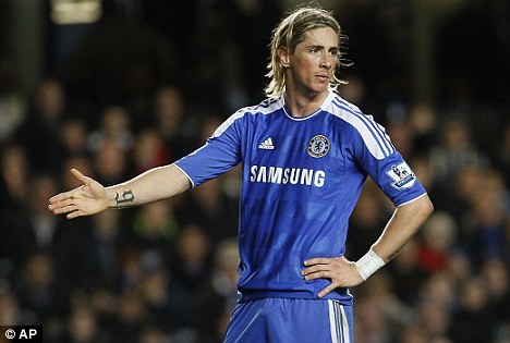 Fernando Torres hairstyle (haircut) - Chelsea players