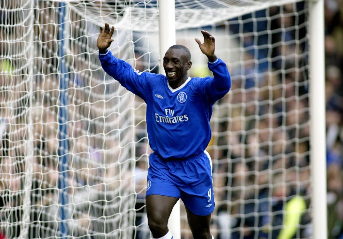 Jimmy Floyd Hasselbaink Most famous Chelsea players ever
