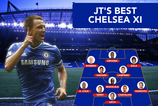 John Terry all time Chelsea XI
