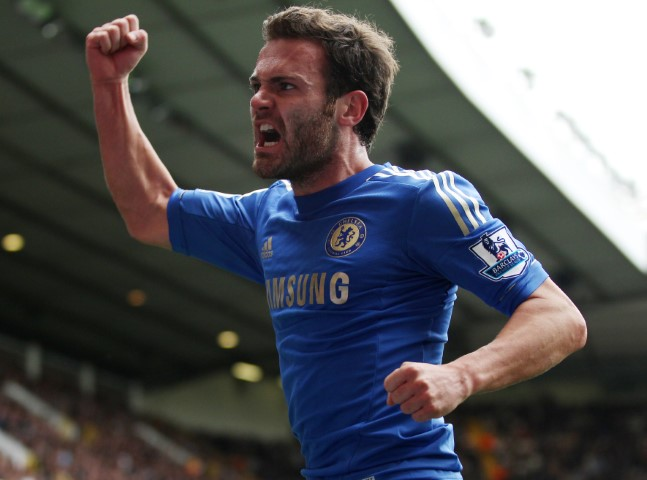Juan Mata is one of the Chelsea players that have won the World Cup