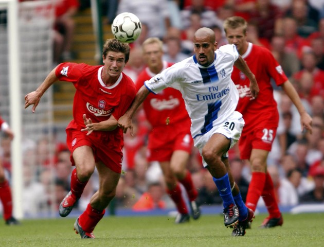 Juan Sebastian Veron Players who played for Chelsea and Manchester United