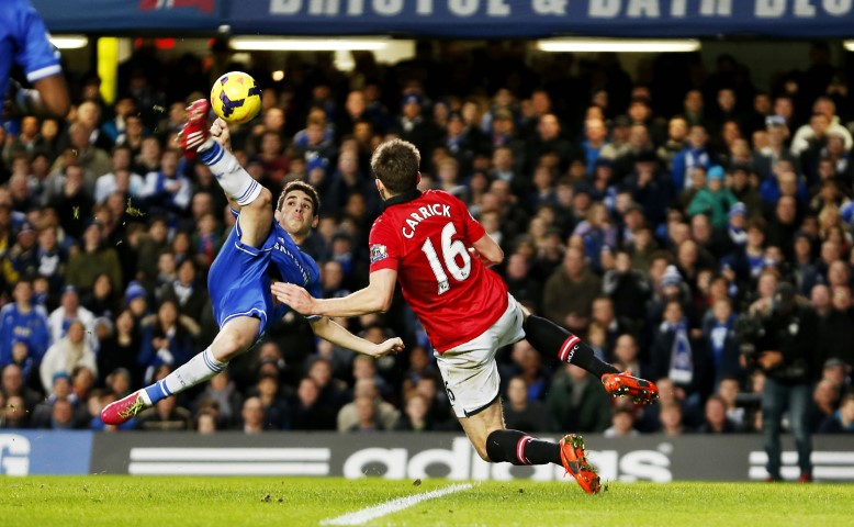 Manchester United Vs Chelsea 2014 Chelsea games with the most yellow cards