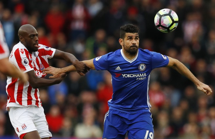 Most aggressive chelsea players ever Diego Costa