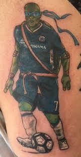 N'Golo Kante tattoo