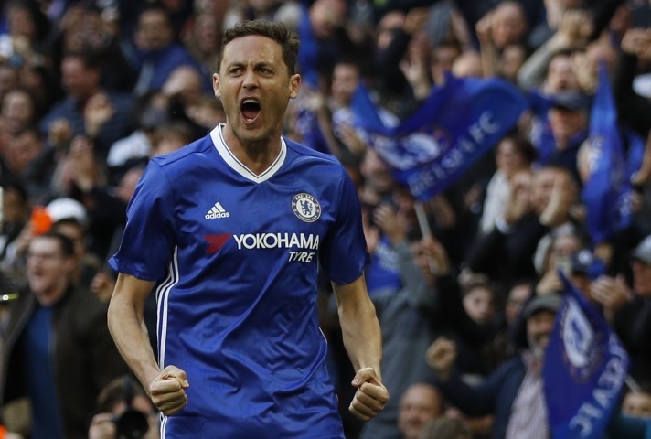 Nemanja Matic is one of the best Chelsea defensive midfielders