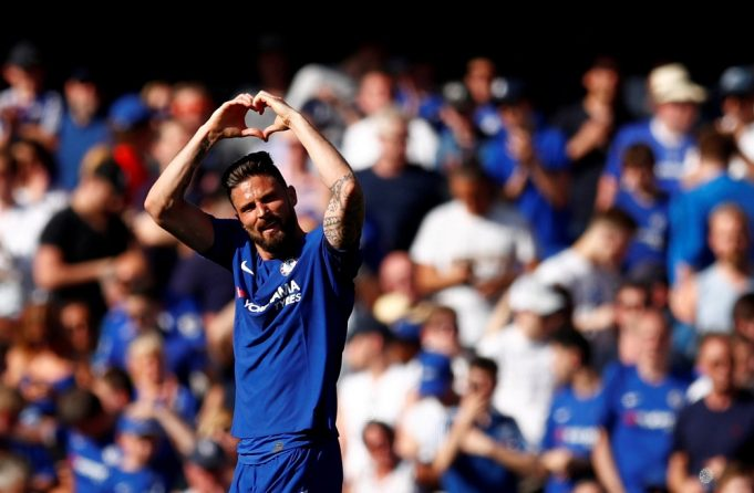Oliver Giroud wants Eden Hazard to stay at Chelsea this summer