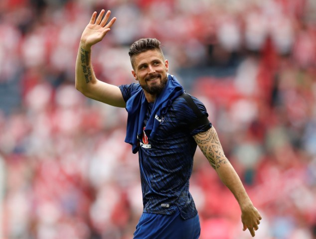 Olivier Giroud is one of the most handsome Chelsea players
