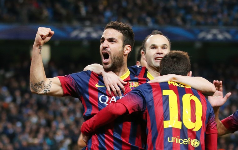 Players who have played for Chelsea and Barcelona Cesc Fabregas