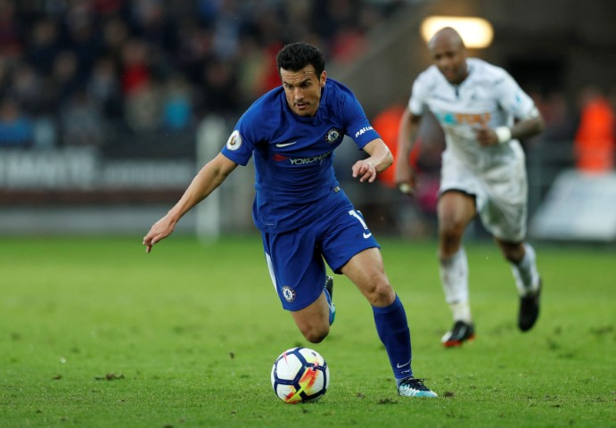 Players who have played for Chelsea and Barcelona Pedro