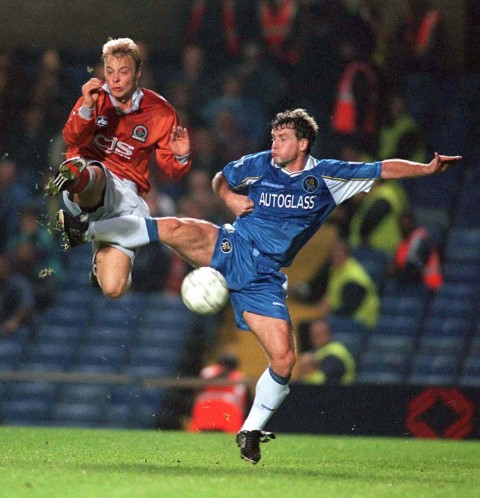 Players who played for Chelsea and Manchester United Mark Hughes