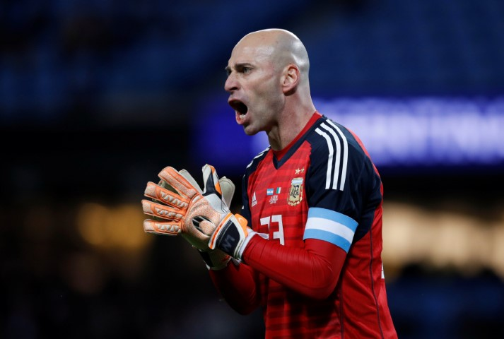 Willy Caballero Chelsea players in World Cup 2018