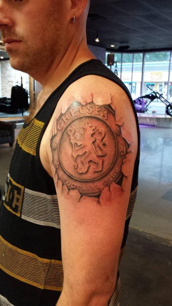 chelsea fc tattoo sleeve