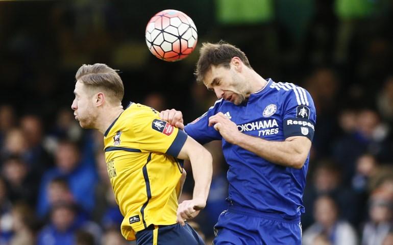 most aggressive Chelsea players ever Branislav ivanovich