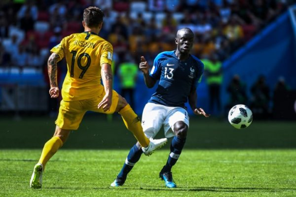 Chelsea Player ratings World Cup 2018 first round N'Golo Kante