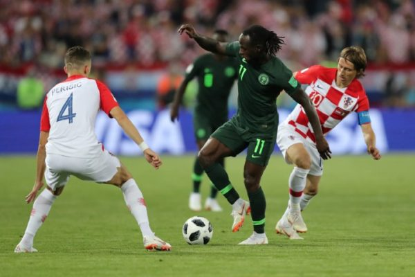Chelsea Player ratings World Cup 2018 first round Victor Moses