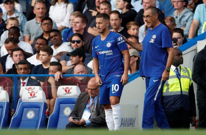 Maurizio Sarri confirms Eden Hazard will stay at Chelsea