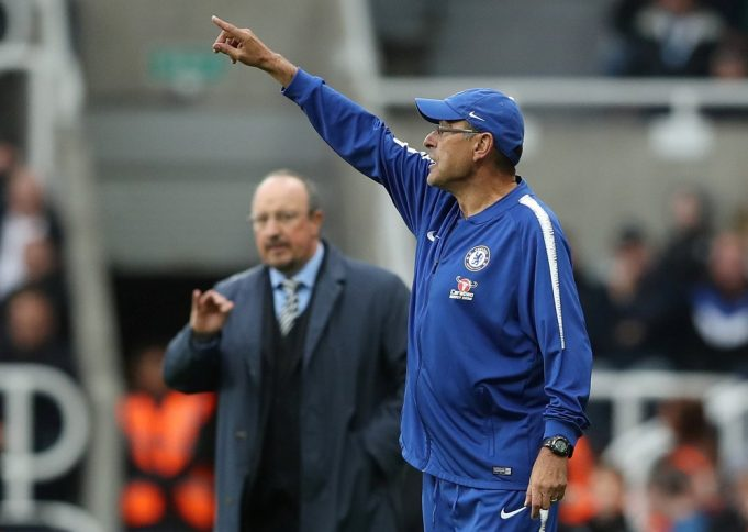 Maurizio Sarri hailed as one the world's best