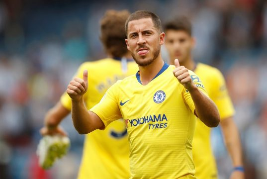 Maurizio Sarri is certain that Eden Hazard will not leave this season