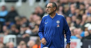 Maurizio Sarri reacts to difficult win against Newcastle United