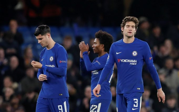 Maurizio Sarri unhappy with Chelsea ace