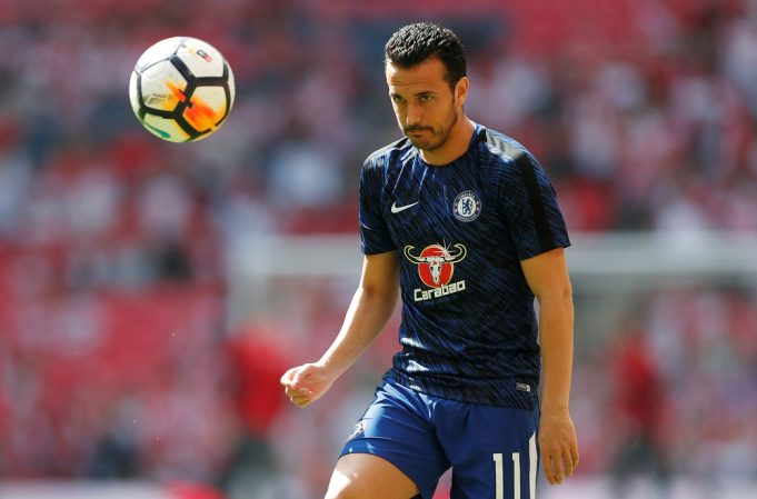 Pedro has signed a new contract with Chelsea