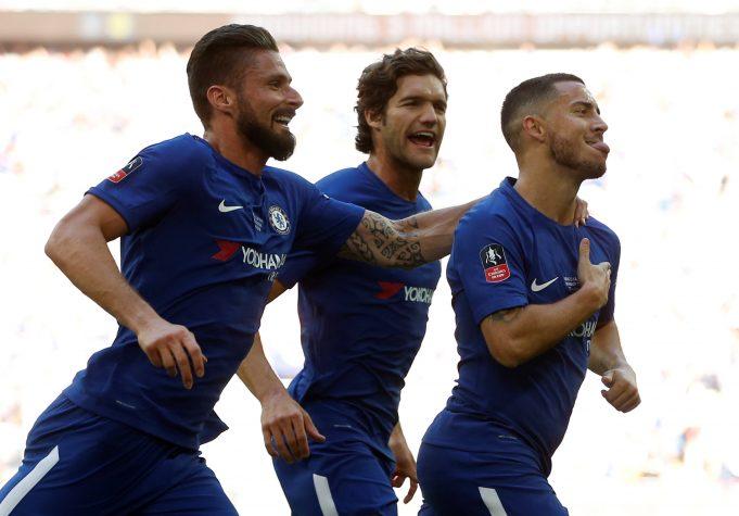 Jamie Redknapp says Olivier Giroud makes Chelsea look more dangerous