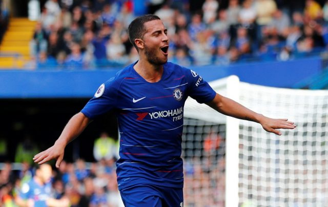 Eden Hazard makes transfer admission