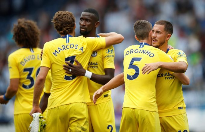 Maurizio Sarri has hailed Marcos Alsonso as the best left-back in the world