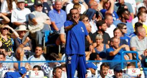 Maurizio Sarri reveals Chelsea's two biggest rivals for Premier League title