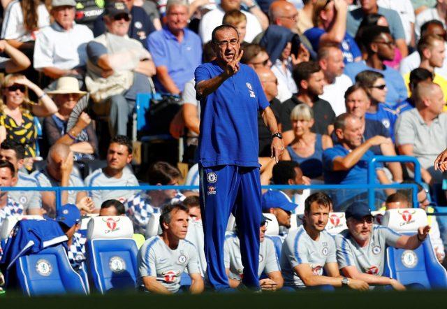 Maurizio Sarri reveals Chelsea's two biggest rivals for Premier League title