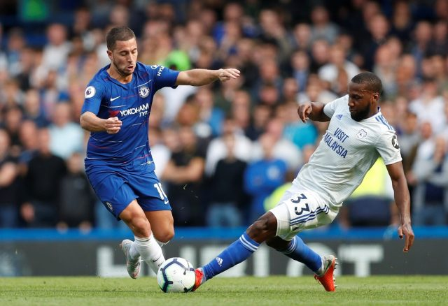 Maurizio Sarri reveals why Eden Hazard has been left out of Chelsea's Europa League opener