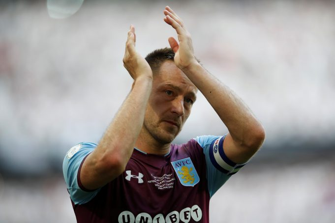 John Terry appointed as Aston Villa's new assistant coach