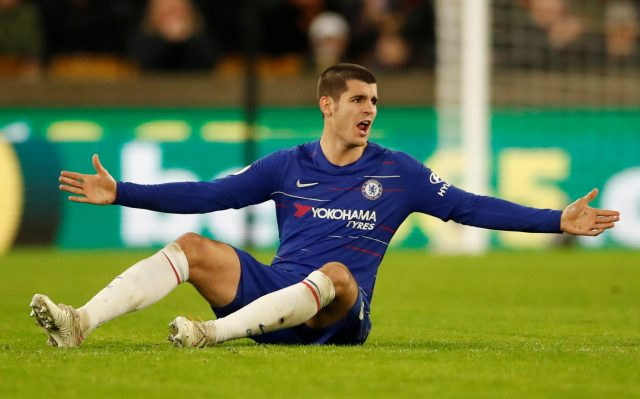 Chelsea boss told what to do with Alvaro Morata