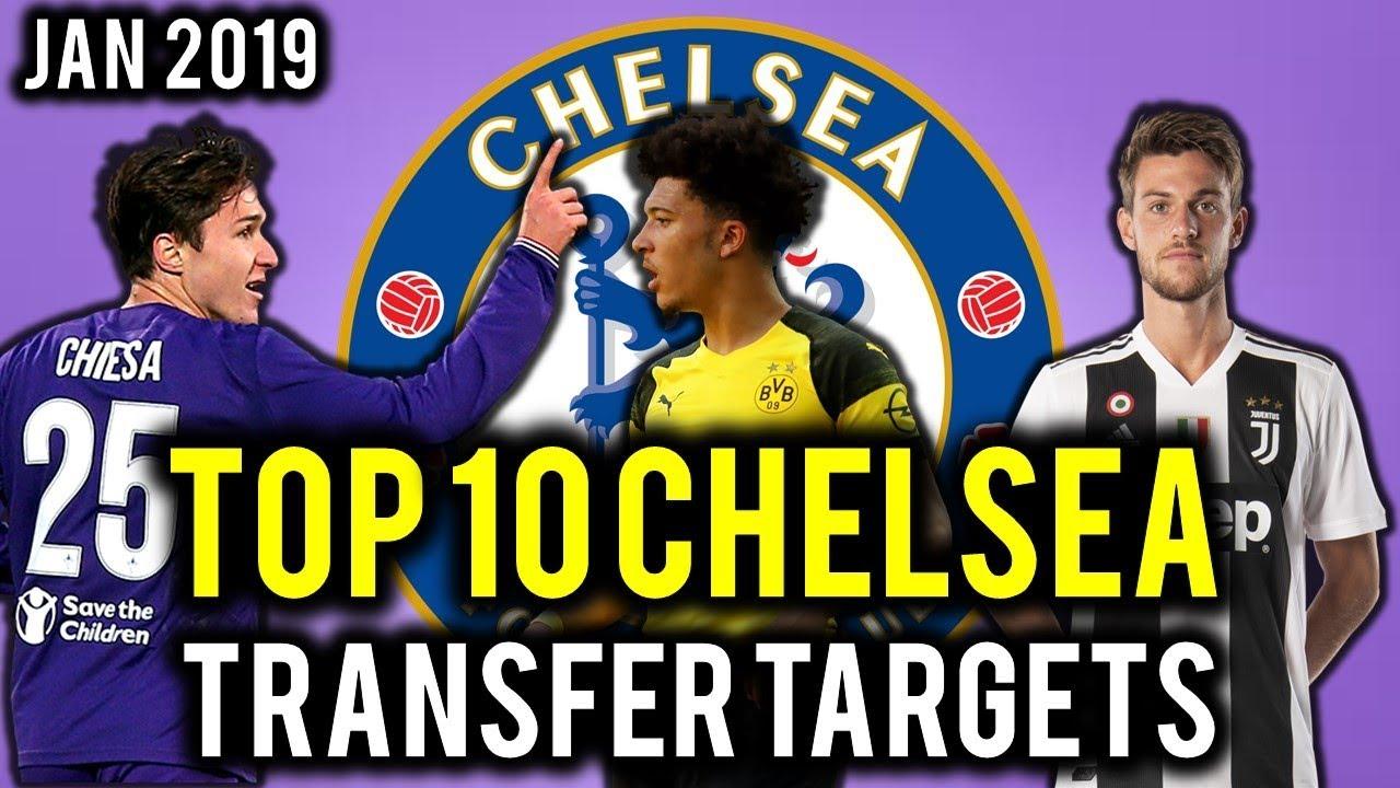 Chelsea transfer targets list